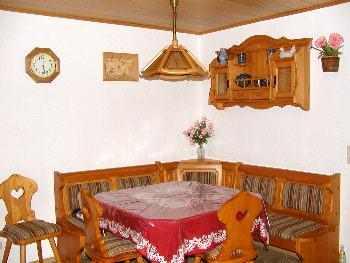 Essecke - Urlaub auf dem Bauernhof für Familien Ferienhaus