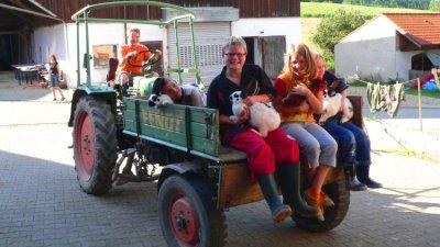 Ferienwohnungen auf dem Bauernhof bei Michelsneukirchen