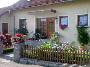 kabauernhof Oberpfalz Ferienwohnungen Hauseingang