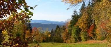 Herbst Urlaub im Bayerischen Wald