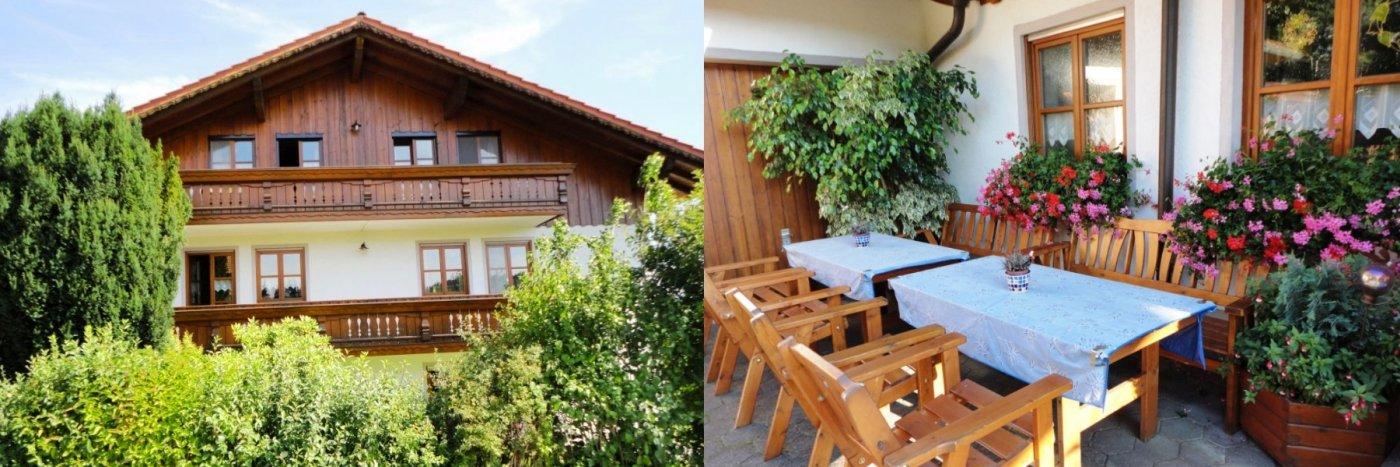 Bayerischer Wald Gemütliche Ferienwohnung Kilger in Prackenbach Haus Marianne