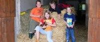 Kinder und Familien Bauernhof Urlaub im Bayerischen Wald