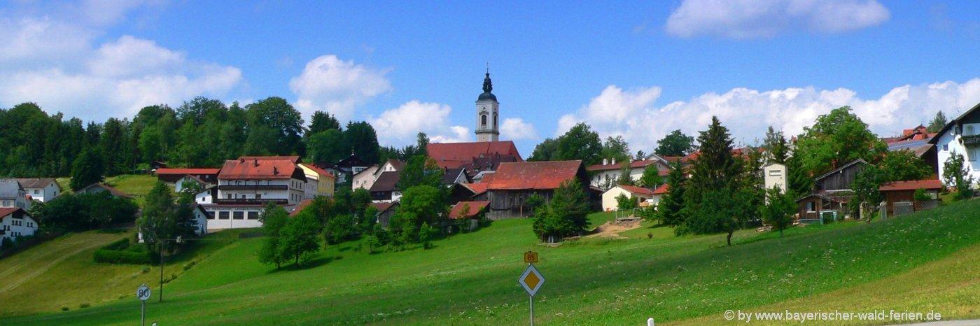 ausflugsziele kirchdorf-bayerischer-wald-sehenswürdigkeiten