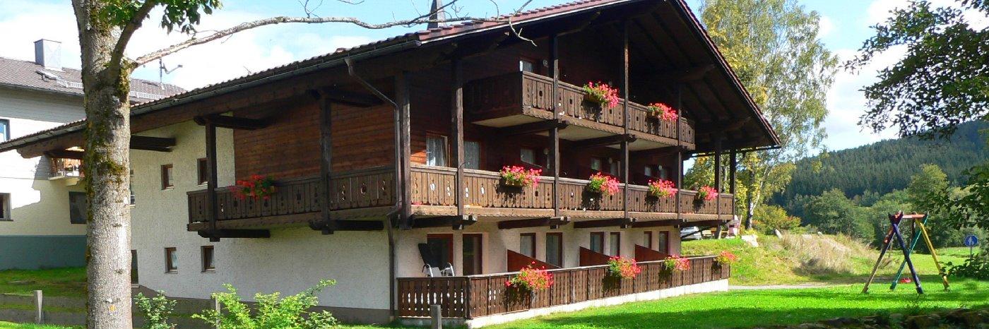 günstige Pension im Bayerischen Wald Gästehaus