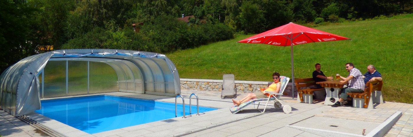 Bayerischer Wald Pension in Bayern Uriger Gasthof mit Pool