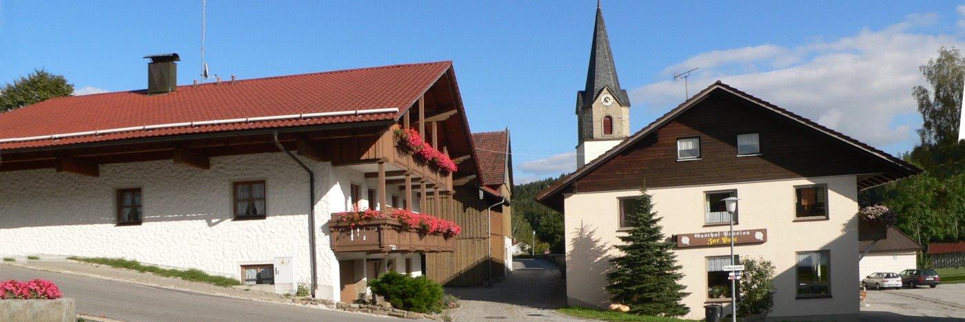 Bayerischer Wald Gasthaus für Motorrad Gruppen Pension