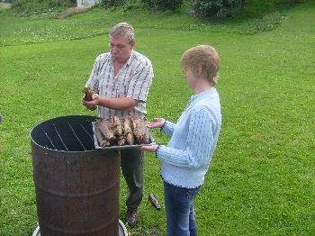 Freizeit Tipps Oberpfalz Forellen Grillen und räuchern