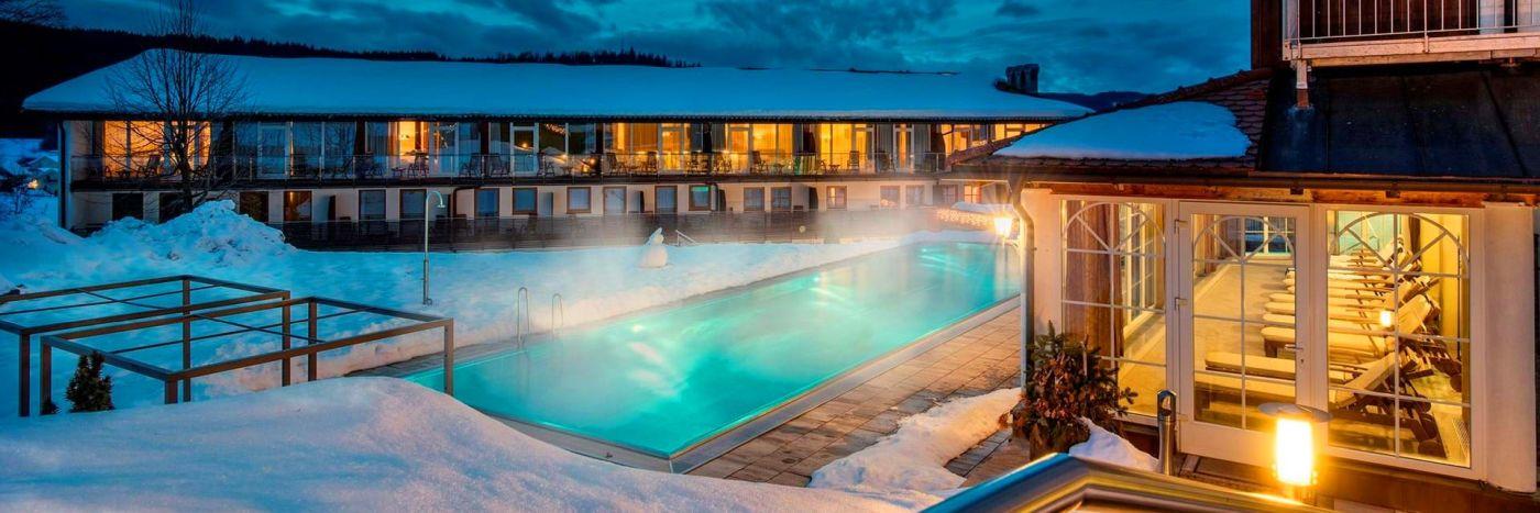 Wellnessurlaub Bayerischer Wald - 4 Sterne Wellnesshotel bei Bodenmais