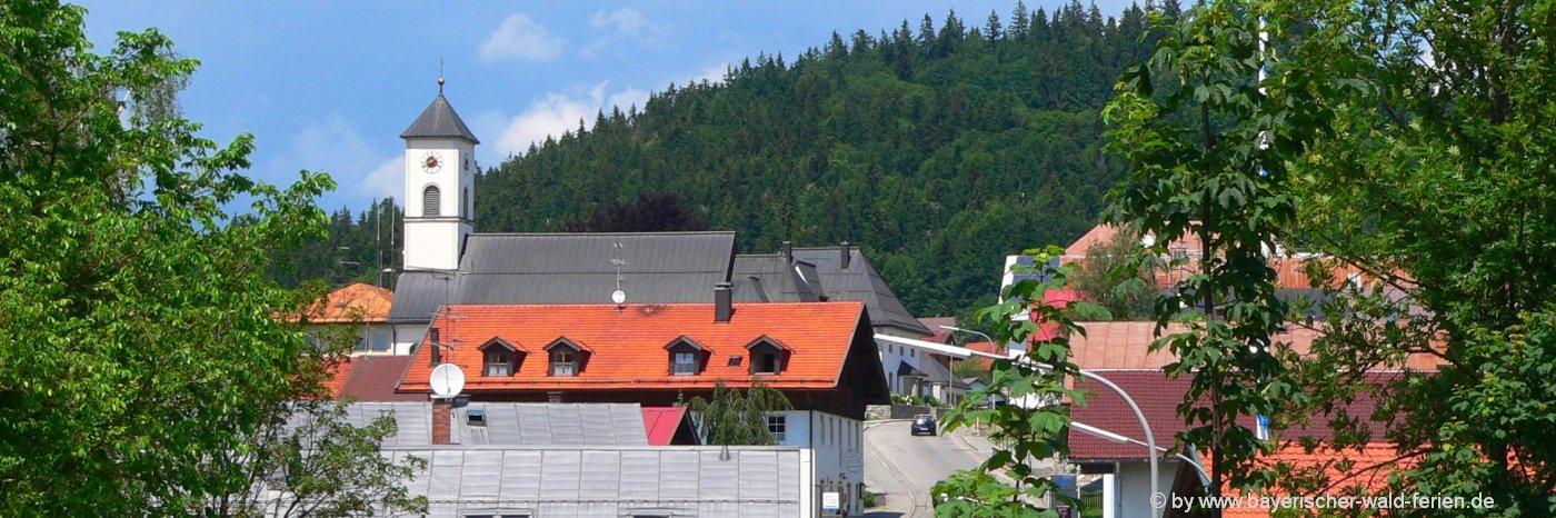 Sehenswürdigkeiten Mauth Nationalpark Gemeinde Bayerischer Wald