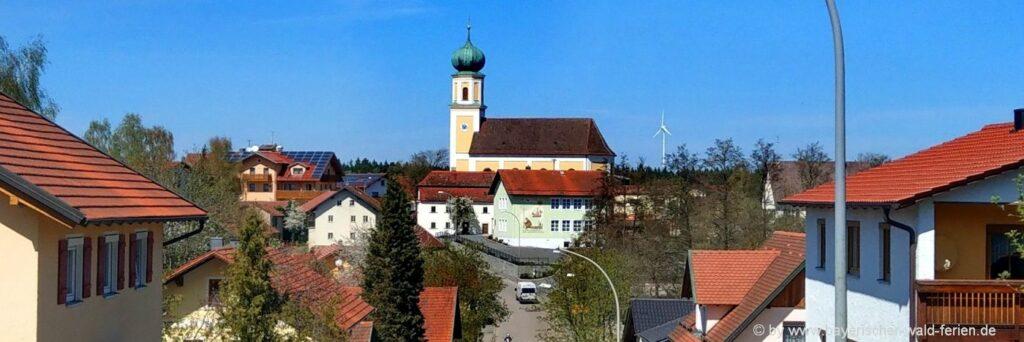 Gasthof in Falkenstein Pension in Michelsneukirchen Hotel in Rettenbach, Zell & Wald