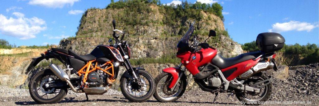 Motorradtouren Bayerischer Wald Bikerunterkunft in bayern