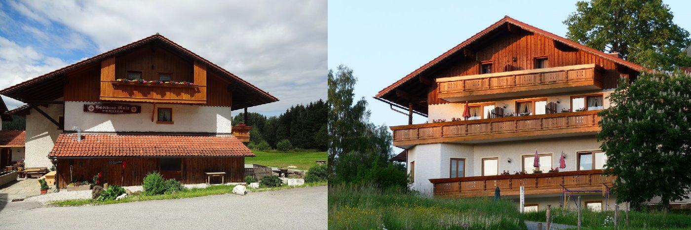 Bayerischer Wald Zimmer für Familienurlaub in der Pension in Bayern