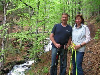 Singender Musikantenwirt im Bayerischen Wald