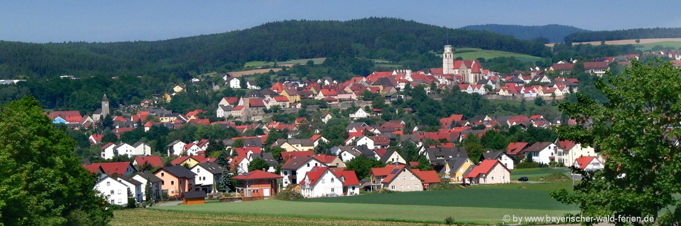 Sehenswürdigkeizten in Nabburg in der Oberpfalz im Landkreis Schwandorf