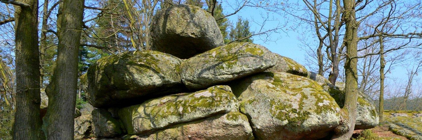 Ausflugsziele Druidensteine Kröblitz - Übernachtung in Neunburg vorm Wald