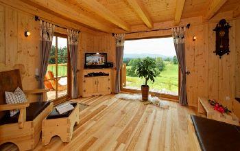 Ferienwohnung in Niederbayern Sacherl mieten mit Panorama Fenster