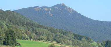 Bayerwald Berg Osser bei Lam