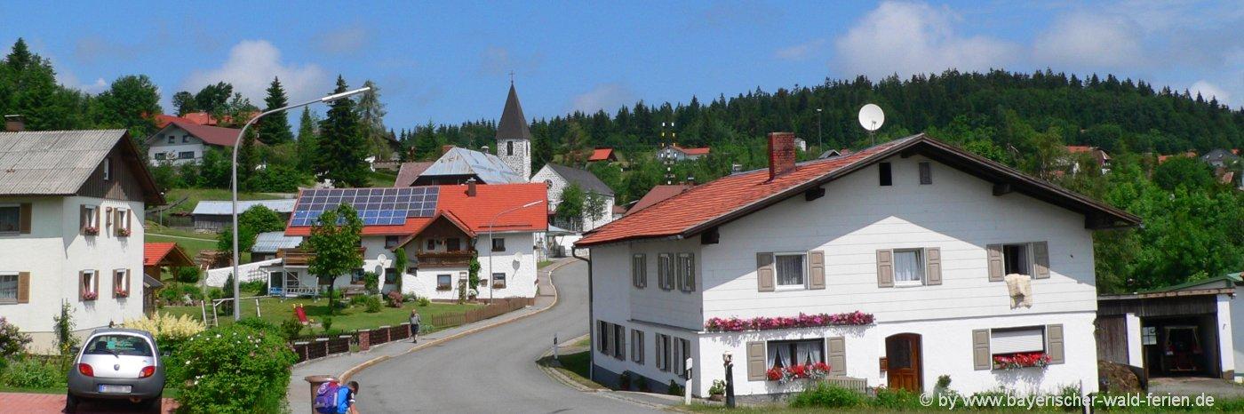 Ausflugsziele in Philippsreut Unterkünfte & Sehenswürdigkeiten Bayerischer Wald
