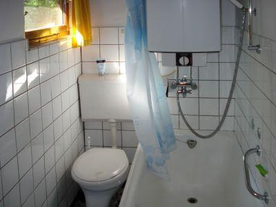 Ferienwohnung Badezimmer Hüttenvermietung Deutschland