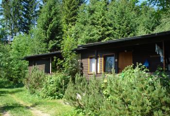 Übernachtung bayerischer-wald Holzhaus, Ski Hütte Deutschland