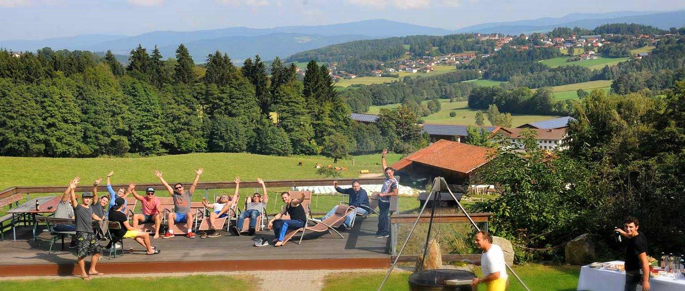 Klassenfahrt nach Bayern Schulausflug Bayerischer Wald Jugendreisen in Deutschland