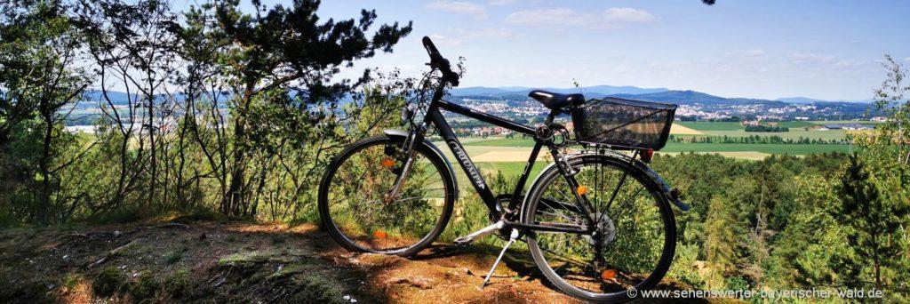 Radfahren Bayerischer Wald Fahrradtouren in der Oberpfalz bei Cham