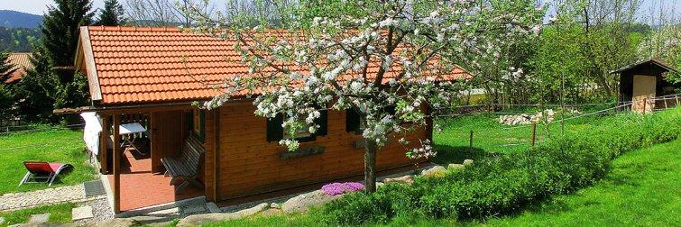Holzhaus Urlaub in Deutschland mit Wellness Gesundheit Heilfasten