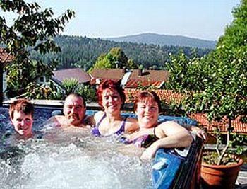 Wellness Entspannung Whirlpool Urlaub in Deutschland
