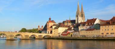 Regensburg an derr Donau - Ausflugsziele in Bayern und Bayerischer Wald