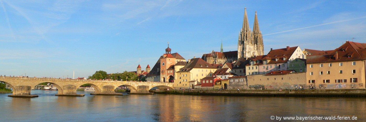 Ausflugsziele in Regensburg Sehenswürdigkeiten Highlights & Attraktionen