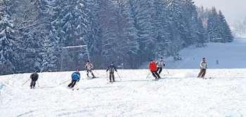 Winterurlaub bei Sankt Englmar - Skifahren, Skigebiet, Wintersport am Pröller