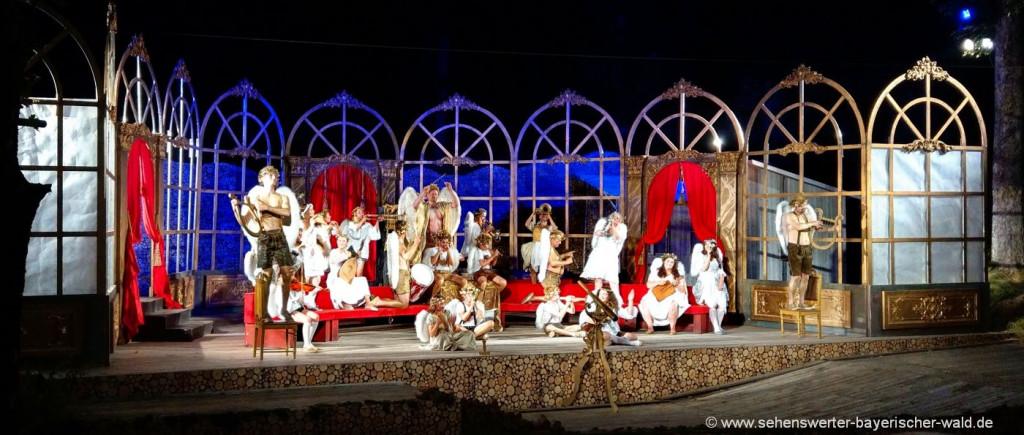 Theater im Bayerischen Wald Kulturelle Highlights in Bayern