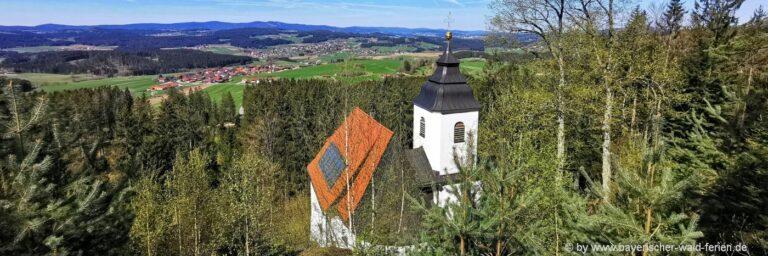 Ausflugsziele in Rinchnach Frauenbrünnl Wallfahrtskirche