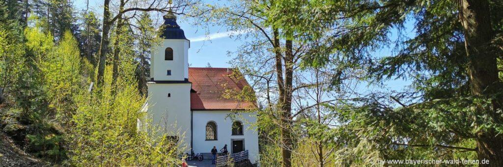 Wallfahrtskirche Frauenbrunnl bei Rinchnach im Bayerischen Wald
