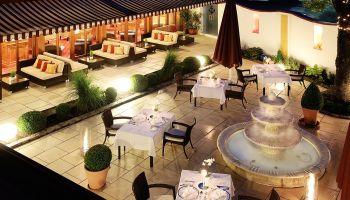 Romantik Hotel Pension mit Restaurant - nähe Bodenmais Regen Viechtach Biergarten