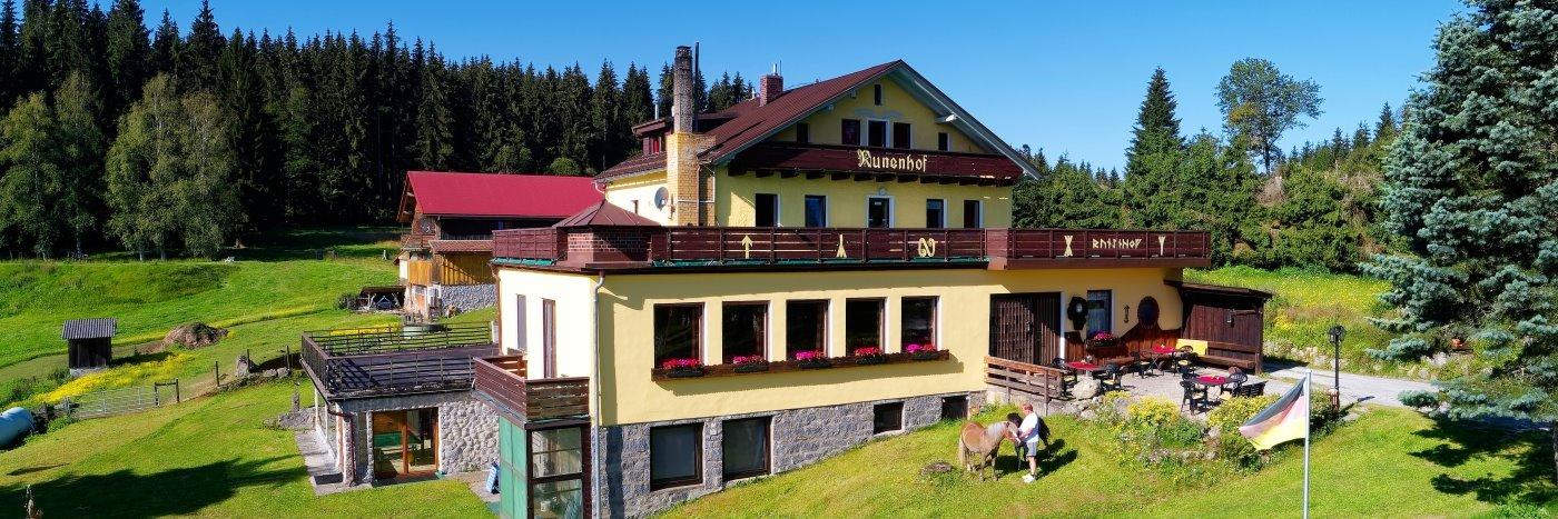 Bauernhofurlaub in Bischofsreut Bauernhof Pension bei Philippsreut im Böhmerwald