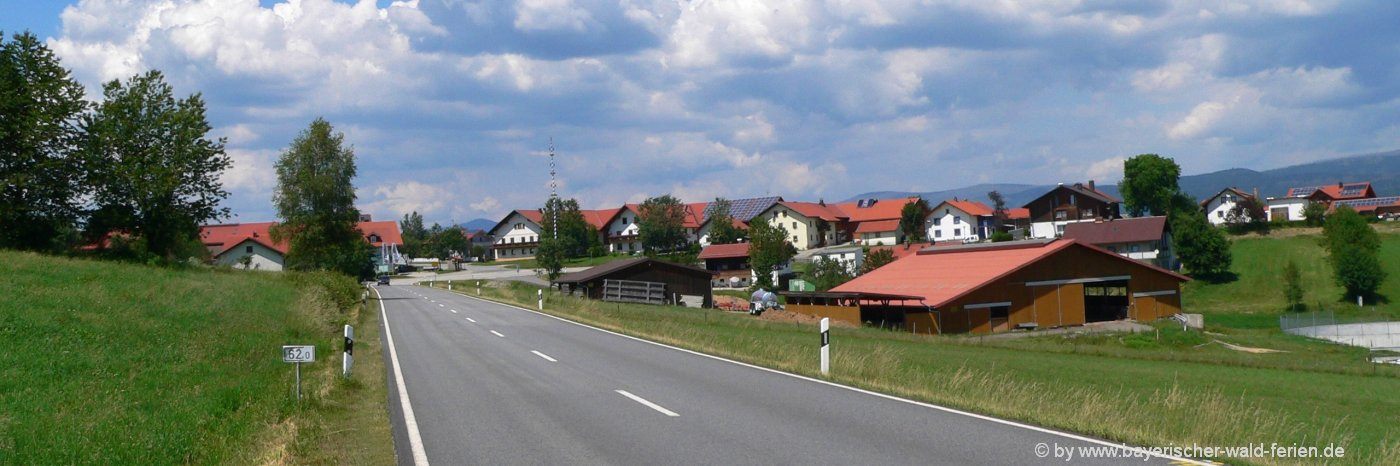 Sehenswürdigkeiten und Ausflugsziele Saldenau Bayerischer Wald