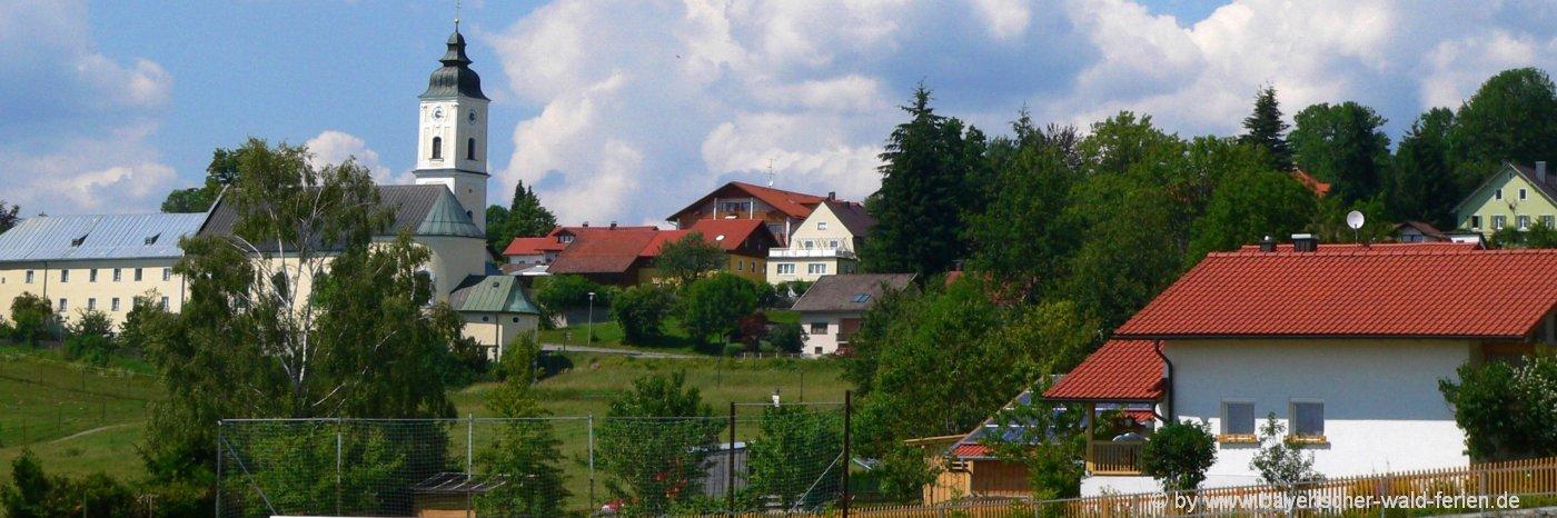 Ausflugsziele Sankt Oswald Sehenswürdigkeiten Bayerischer Wald