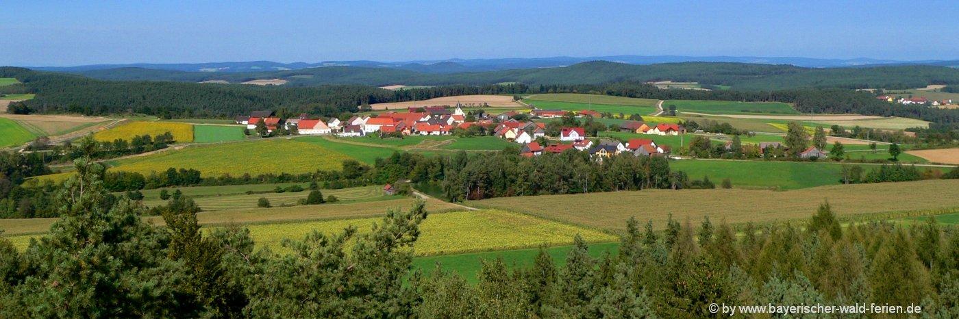 Fuhrn Aussichtsturm im Landkreis Schwandorf nähe Neunburg vorm Wald