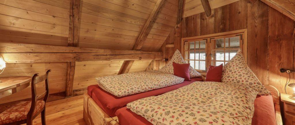 sellmayer-spiegelau-forsthütten-nationalpark-schlafzimmer
