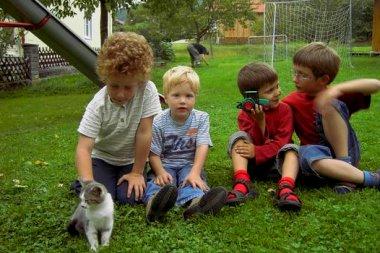 Kinderferien am Bauernhof Sieglinde im Bayerischen Wald