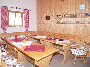Dreiländereck Urlaub - Aufenthaltsraum im Ferienhaus Spannbauer
