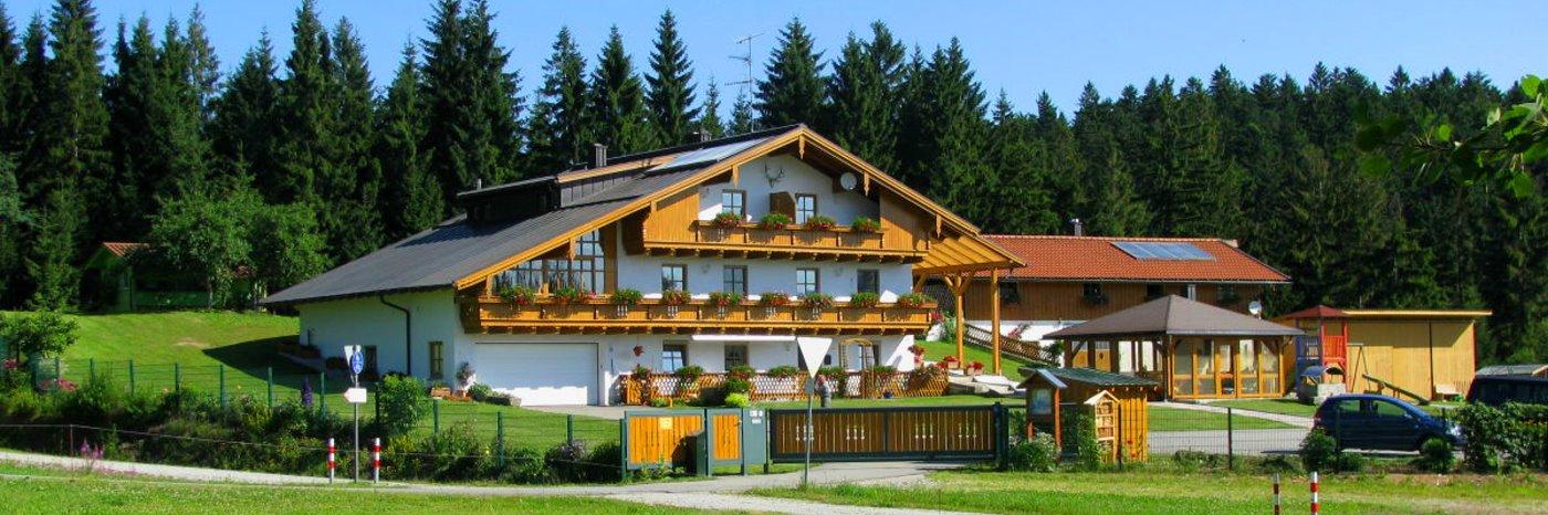 Bayerischer Wald Ferienhaus am Adalbert-Stifter Radweg