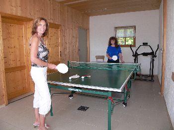 Urlaub am Dreisessel - Sporturlaub Tischtennis