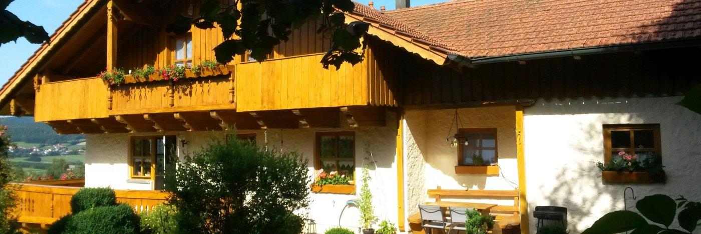 Ferienwohnung Steinbeisser in Drittenzell Gemeinde Arrach am Hohen Bogen Berg