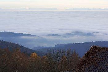 Brotjacklriegel Ferienwohnung Ausblick von der Traumhütte