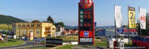 Ausflug nach Tschechien Grenzuebergang Furth im Wald Casino Einkaufen Tanken