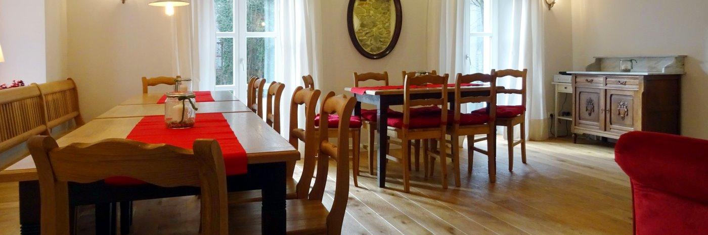 Seminarhaus im Oberpfälzer Wald Tagungsstätte für Firmen und private Feiern