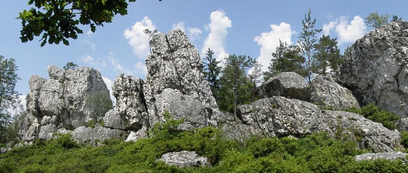 Pfahl bei Viechtach - Quarzriff Naturdenkmal in Bayern