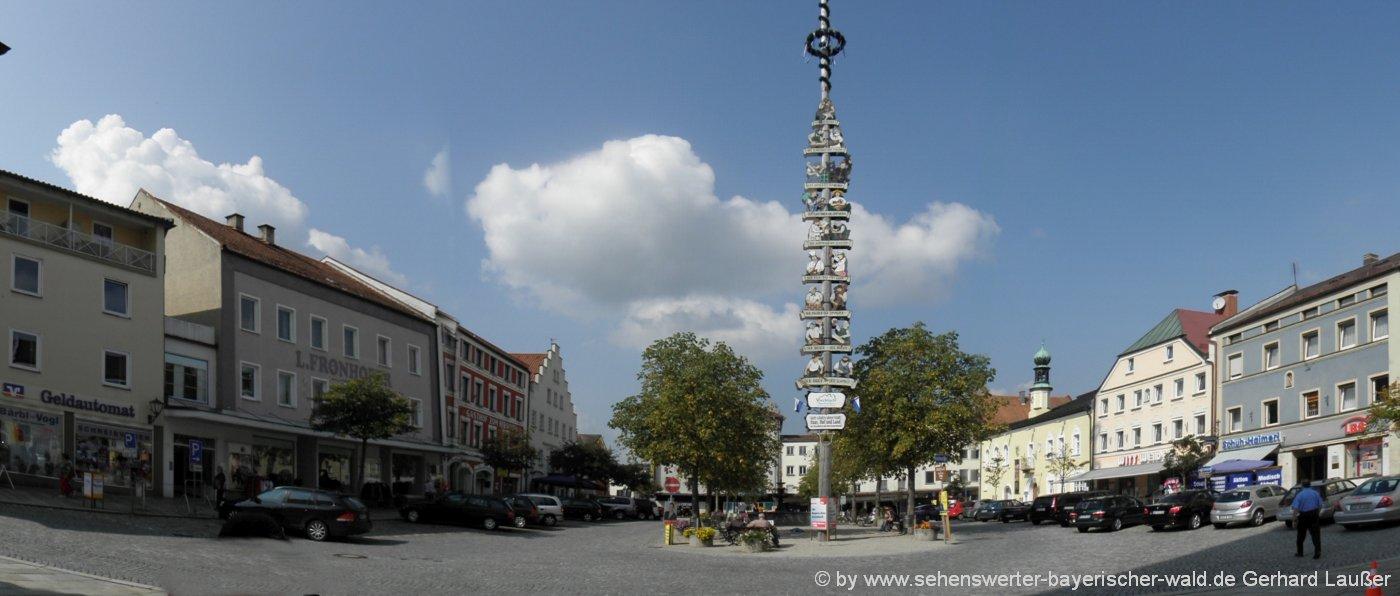 viechtach-stadt-marktplatz-ausflugsziele-freizeit-landkreis-regen